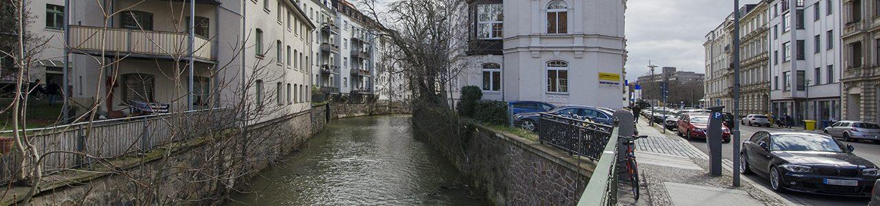 Führungen im Waldstraßenviertel (Jacobstraße); Foto: Andreas Reichelt