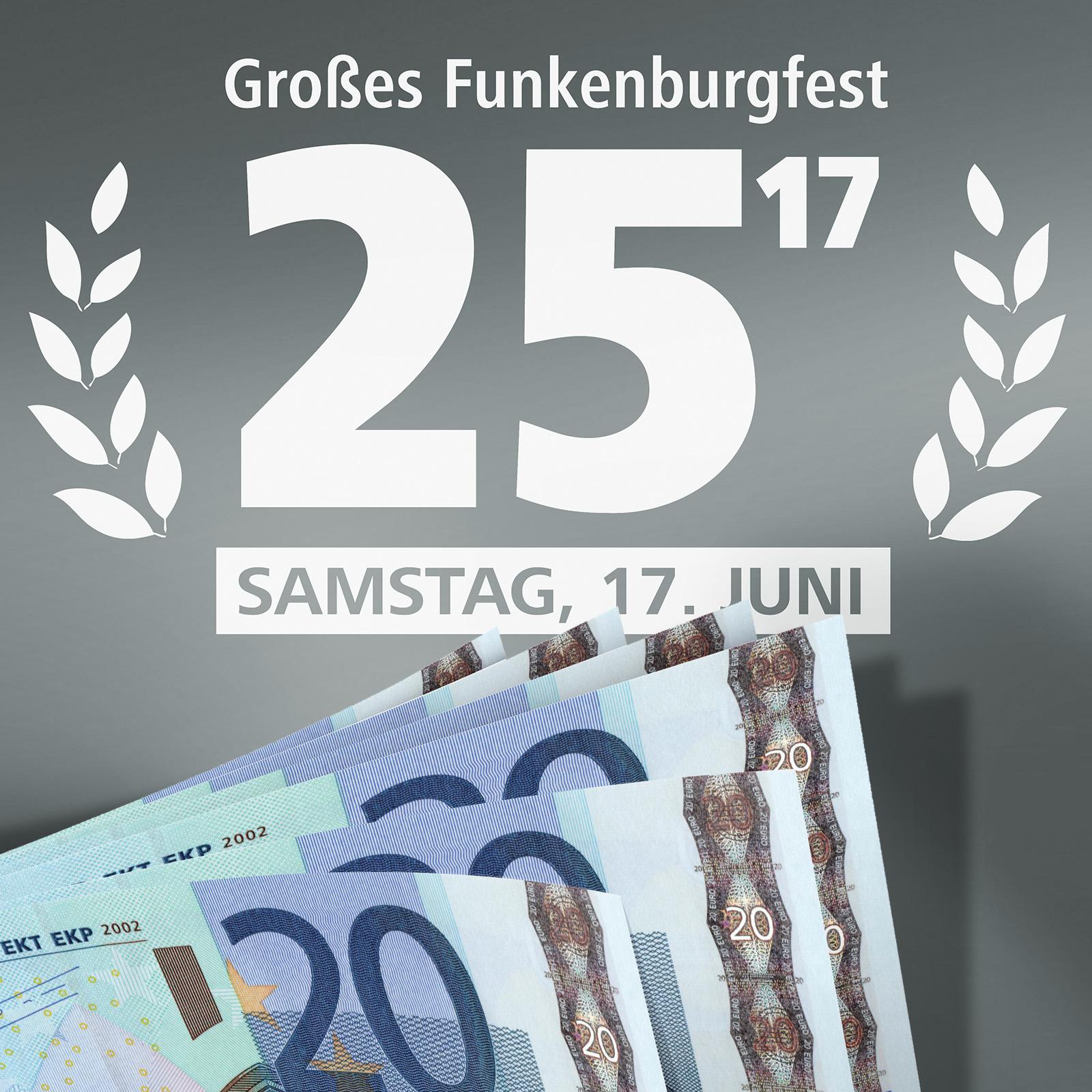 25. Großes Funkenburgfest Sponsoring
