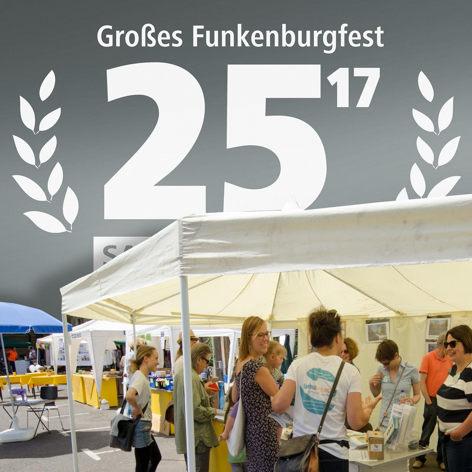 25. Großes Funkenburgfest Standinfo