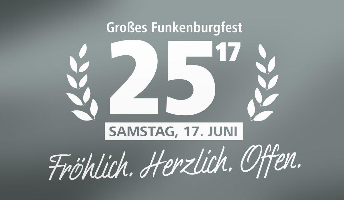 Logo 25. Großes Funkenburgfest