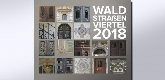 Waldstraßenviertel-Kalender 2018: Jetzt Werbeeintrag sichern