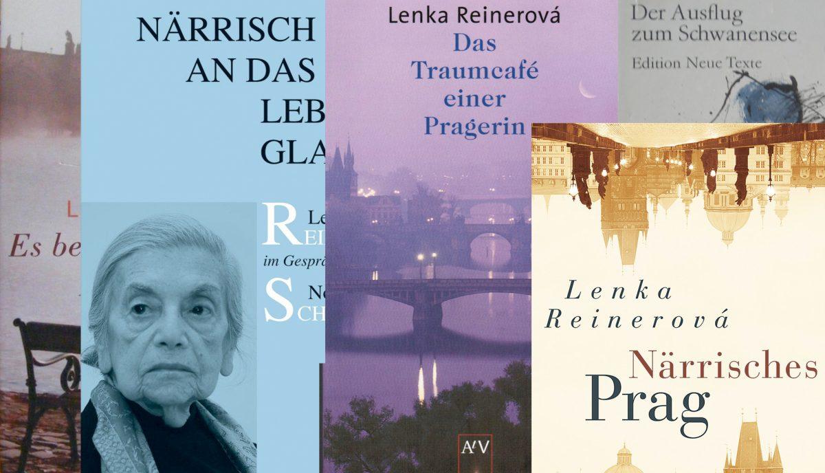 Bucjtitel-Collage Lenka Reinerová by Reichelt Kommunikationsberatung