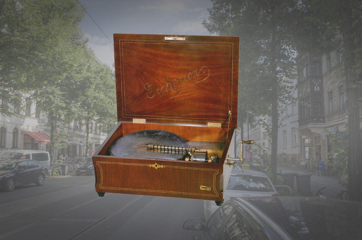 Musikautomatenbau im Waldstraßenviertel