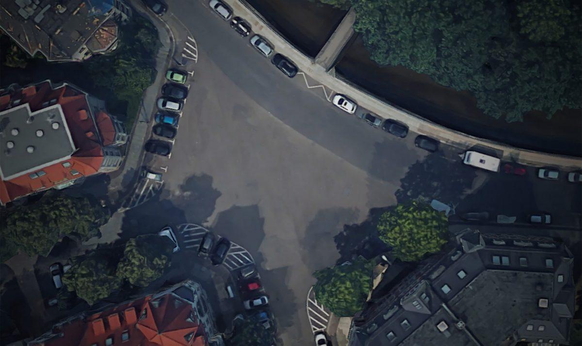 Ein neues Gesicht für den Liviaplatz; Quelle: GoogleMaps