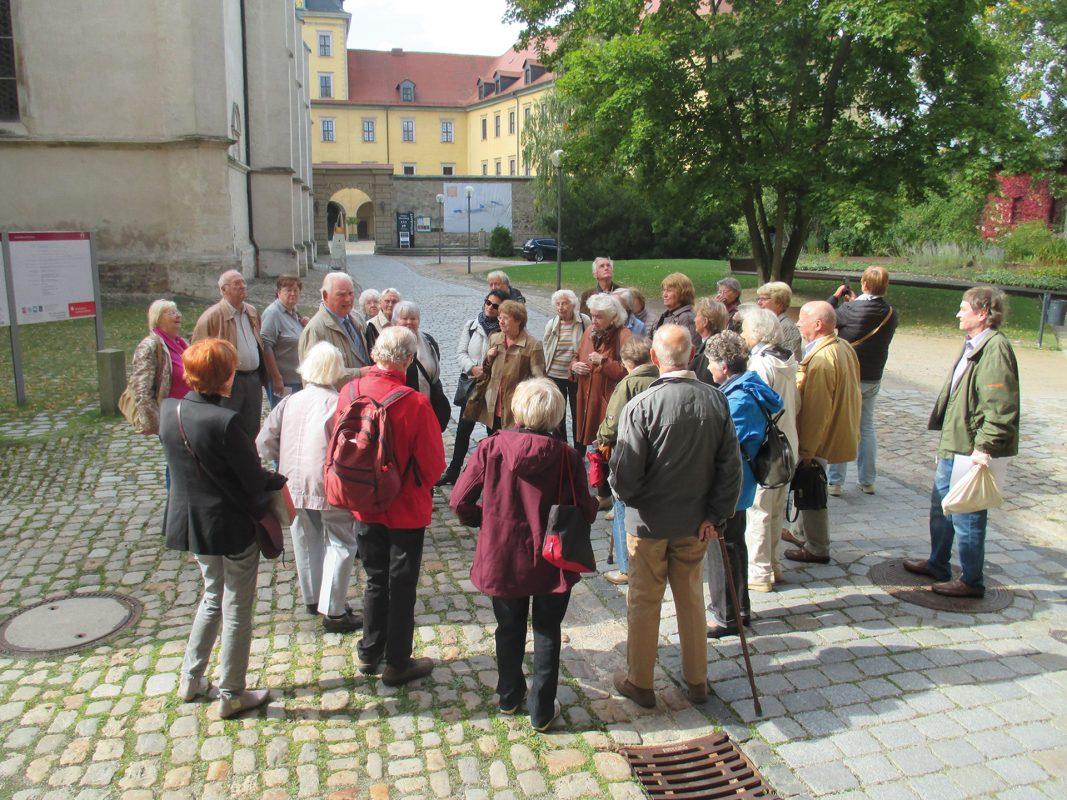 Vereinsfahrt Bürgerverein Waldstraßenviertel Zeitz 2017; Foto: Ingrid Pietrowski