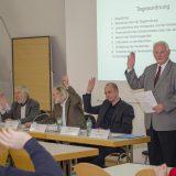 Fußball, Verkehr, Finanzen: Die Mitgliederversammlung