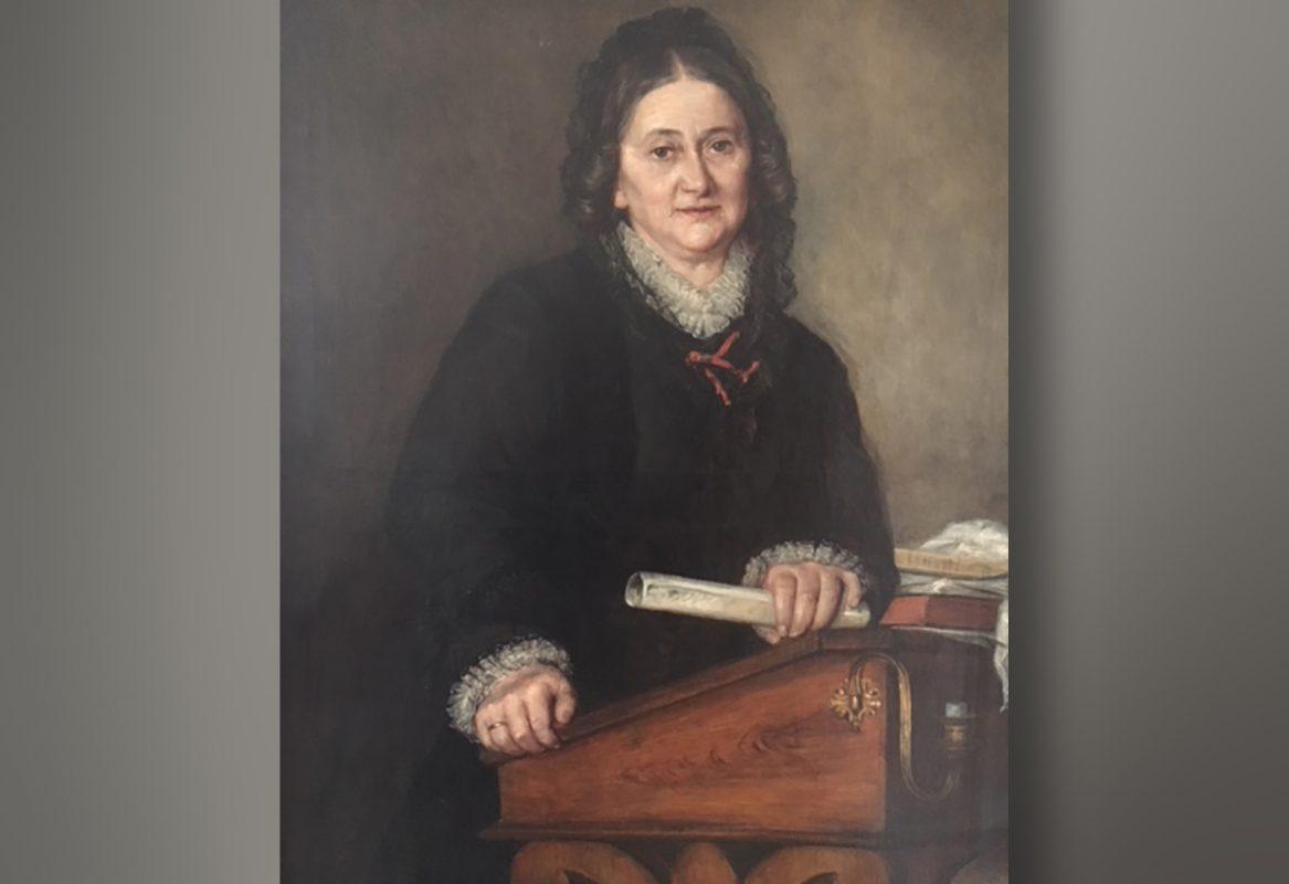 Henriette Goldschmidt Porträt; Bild: Henriete-Goldschmidt-Schule Leipzig