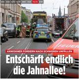 Bild-Artikel zur Jahnallee