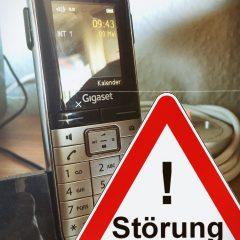 Störung beim Vereinstelefon – bitte vorübergehend andere Nummer nutzen