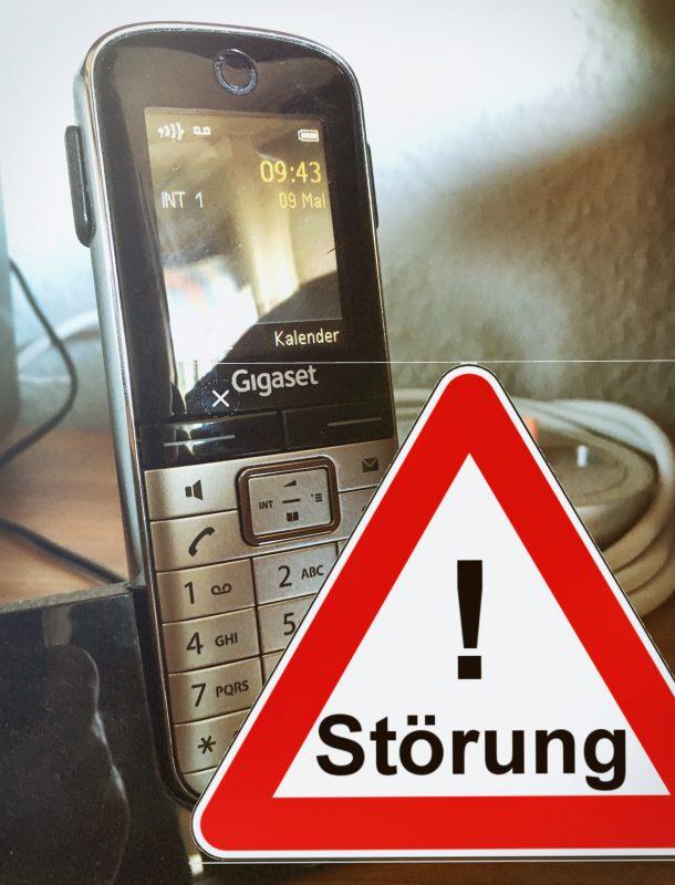 Telefonstörung; Bild: M. Geißler
