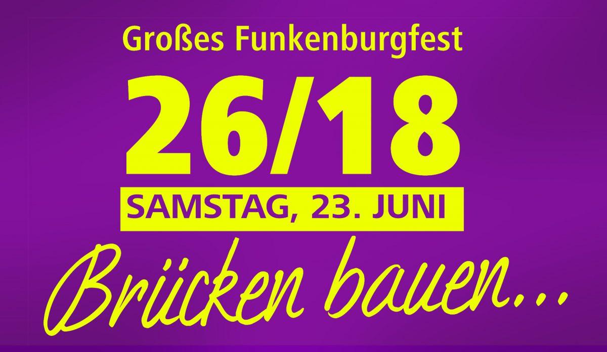 Logo 26. Großes Funkenburgfest