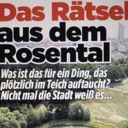 Historische Fotos vom Rosental Teich gesucht!