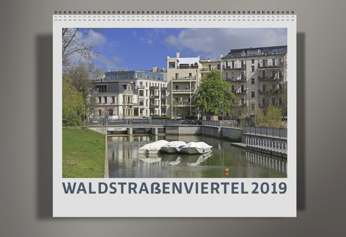 Titel Waldstraßenviertel Kalender 2019