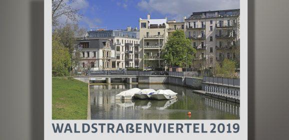 Waldstraßenviertel-Kalender 2019: Jetzt Werbeeintrag sichern