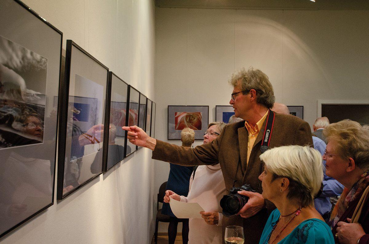 Premiere Walddstraßenviertel Kalender 2019 und Ausstellungseröffnung Andreas Seller; Foto: Andreas Reichelt
