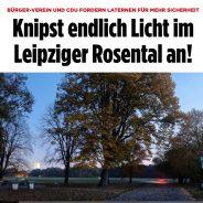 """Bild-Zeitung zu """"Licht an"""" im Rosental"""
