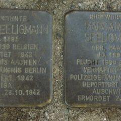 Stolpersteine im Waldstraßenviertel