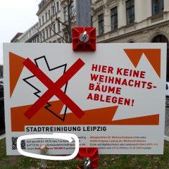 100.000 € Bußgeld für illegal entsorgte Weihnachtsbäume?!?!?!