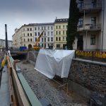 Bau des Elstermühlgrabens Thomasiusstraße, Foto: Andreas Reichelt