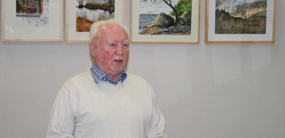 Aquarelle und mehr – Vernissage mit Hubert Klaus am 15. Mai im Bürgerverein