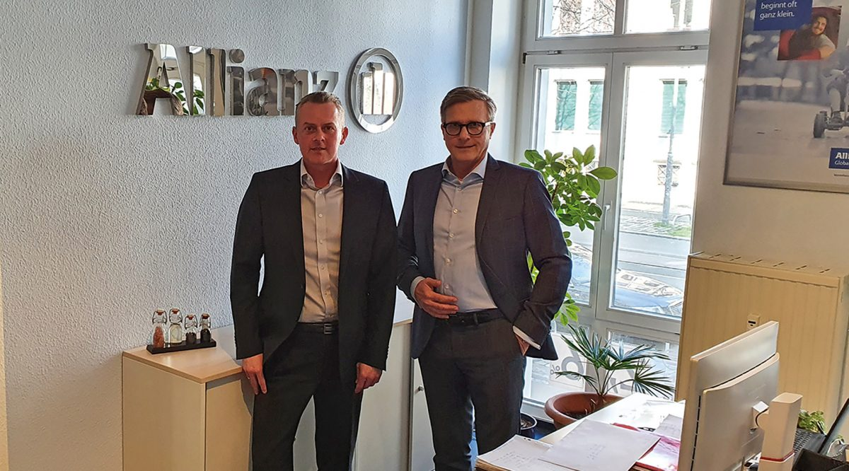 Harald Hausbeck und Andreas Michael, Allianz Waldstraßenviertel