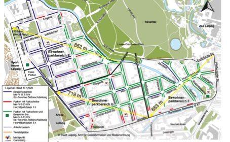 Bewohnerparken endlich wieder im ganzen Waldstraßenviertel