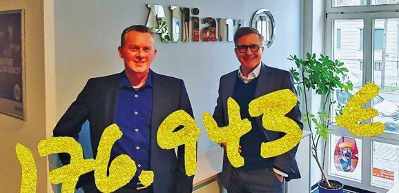 #ad: Die Allianz im Waldstraßenviertel No. 5 über eine große Zahl: 176.943 €